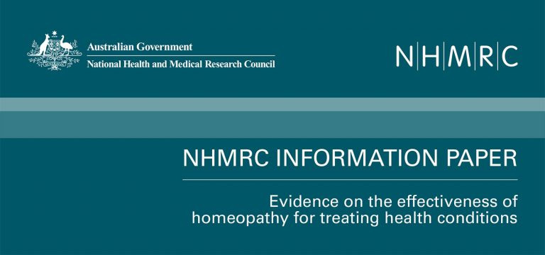 Facts about the NHMRC Homeopathy Review